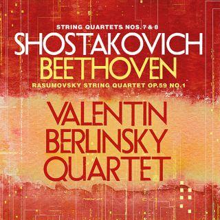 String Quartets Nos.7&8/string Quartet Op.59,no.1
