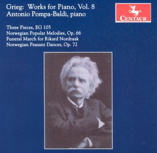 Works For Piano, Vol. 8