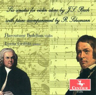 Sonatas And Partitas (accompaniment R. Schumann)