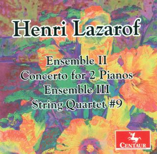 Ensembles Ii & Iii/concerto For 2 Pianos/...