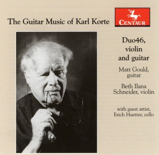 The Guitar Music Of Karl Korte