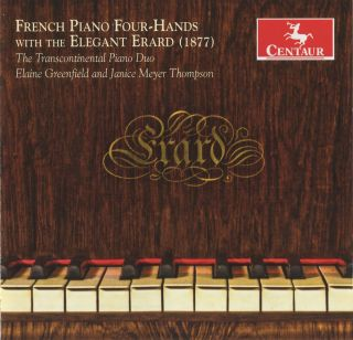 French Piano Four-hands With The Elegant Erard