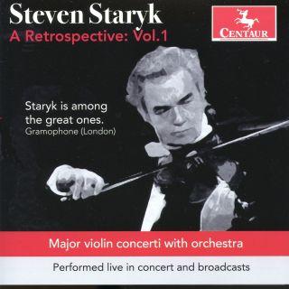 Steven Staryk: A Retrospective: Volume 1