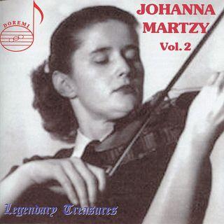 Legendary Treasures Vol. 2 / Johanna Martzy