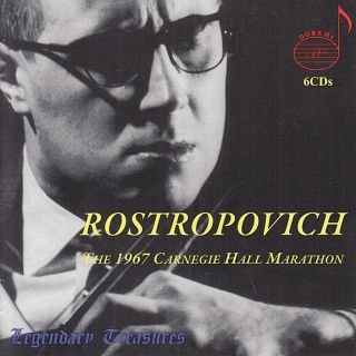 Rostropovich/carnegie Hall 1967