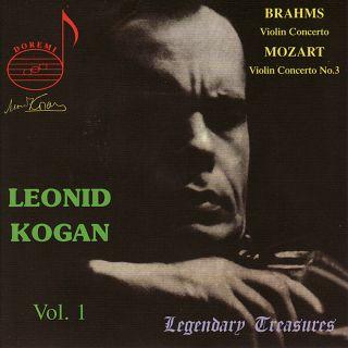 Kogan Vol.1/brahms/mozart 3