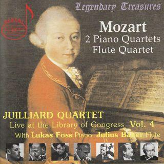 Juilliard Quartet Live At The Loc Vol.4