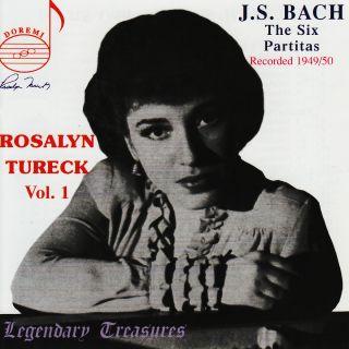 Tureck Vol.1/bach Partiten