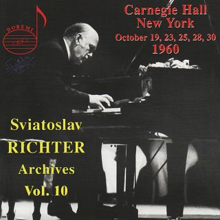 Richter Archive Vol.10/carnegy Hall
