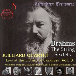 Juilliard Quartet Live At The Loc Vol.3