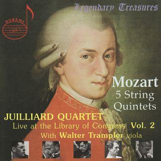 Juilliard Quartet Live At The Loc Vol.2