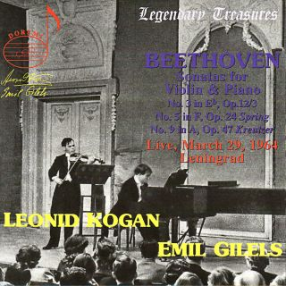 Kogan/gilels Sp.beethoven
