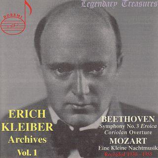 Kleiber Archives Vol.1