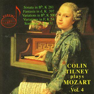 Tilney Spielt Mozart Vol.4