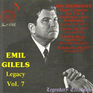 Gilels Legacy Vol.7