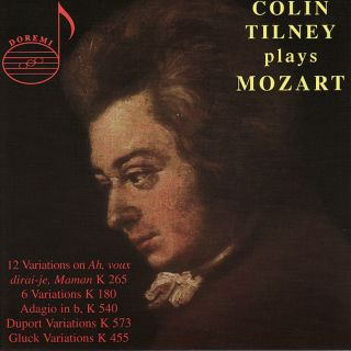 Tilney Spielt Mozart Vol.1