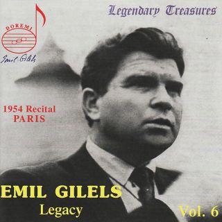 Gilels Legacy Vol.6