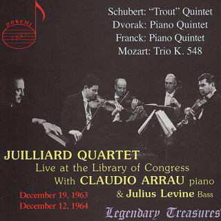 Juilliard Quartet Live At The Loc Vol.1