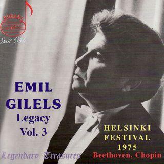 Gilels Legacy Vol.3