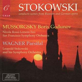 Stokowski conducts scenes from Russian and German opera