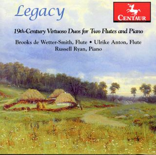 Legacy: 19th Century Virtuoso Duos For Two Flues A