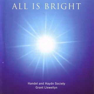 All Is Bright Christmas choral CD