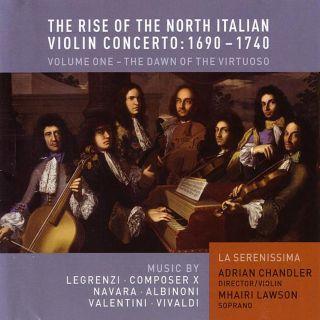 Rise of North Italian Violin Concerto