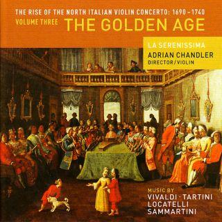 North Italian Violin Concertos Vol 3