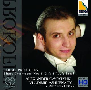 Sergei Prokofiev, Piano Concertos Nos 1, 2 & 4