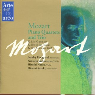 Piano Quartets K.478 & 564/Piano Trio K.564