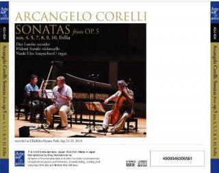Sonatas from Op. 5
