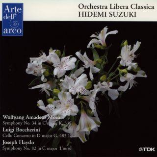 Symphony No.34/Cello Concerto G483/Symphony No.82