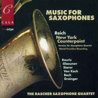 Music for Saxophones