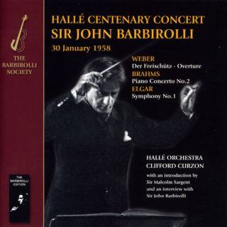 Conducts The Halle Centenary Concert