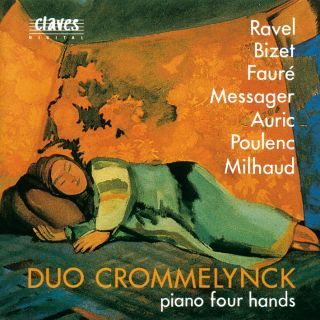 French Masterpieces For Piano Four Hands