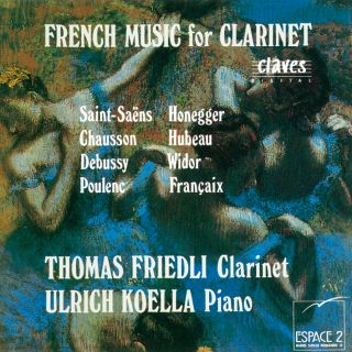 French Music For Clarinet