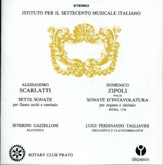 Scarlatti: Sette Sonate per Flauto Archi e Cembalo - Zipoli: Dalle Sonate d