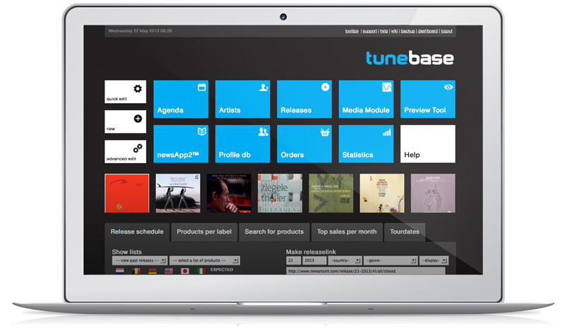 Tunebase, an endless source afbeelding