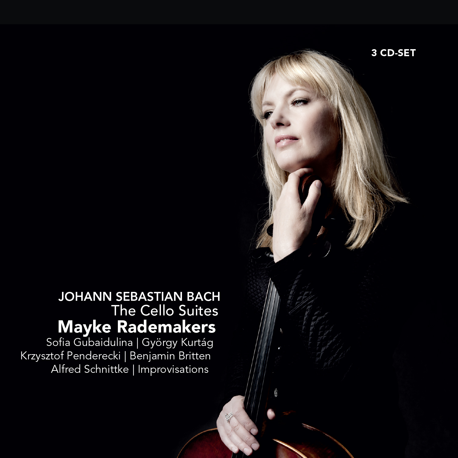 Challenge records international the cello suites mayke rademakers mayke rademakers the cello suites fandeluxe Images